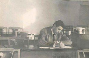 Студент МИСИ,1958 г.