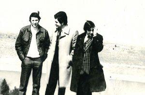 С друзьями Геннадием Хазановым и Тимуром Качкачишвили