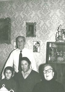 С родителями Раисой Ильиничной и Иосифом Наумовичем