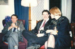С друзьями Людмилой Максаковой и Павлом Чухраем
