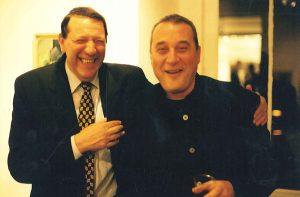 В Париже с продюсером фильма «Паспорт» Константином Александровым