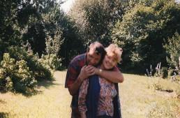 С женой Люсей на отдыхе в Эстонии